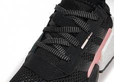 Женские кроссовки Adidas Originals POD-S3.1 Core Black/Clear Orange B37447, Адидас ПОД-С3.1, фото 3