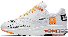 "Мужские кроссовки Nike Air Max 1 SE LX ""Just Do It"" White"