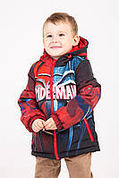 Демисезонная куртка Спайдермен, р110
