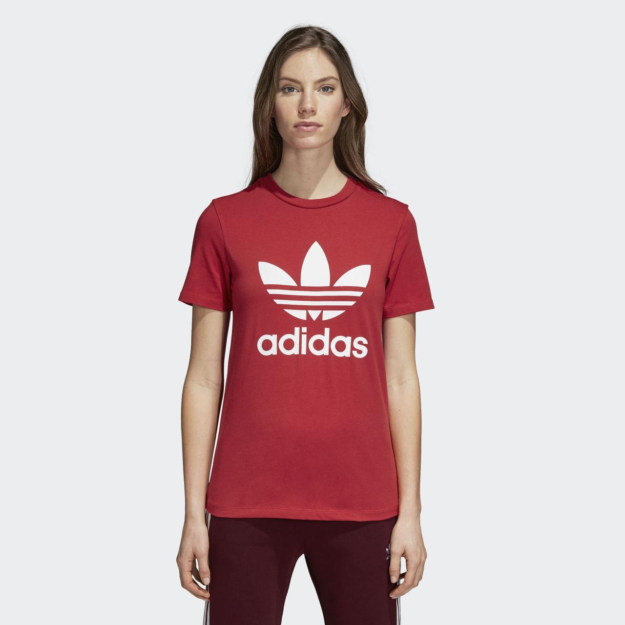 Женская футболка Adidas Originals Trefoil (Артикул: DH3172)
