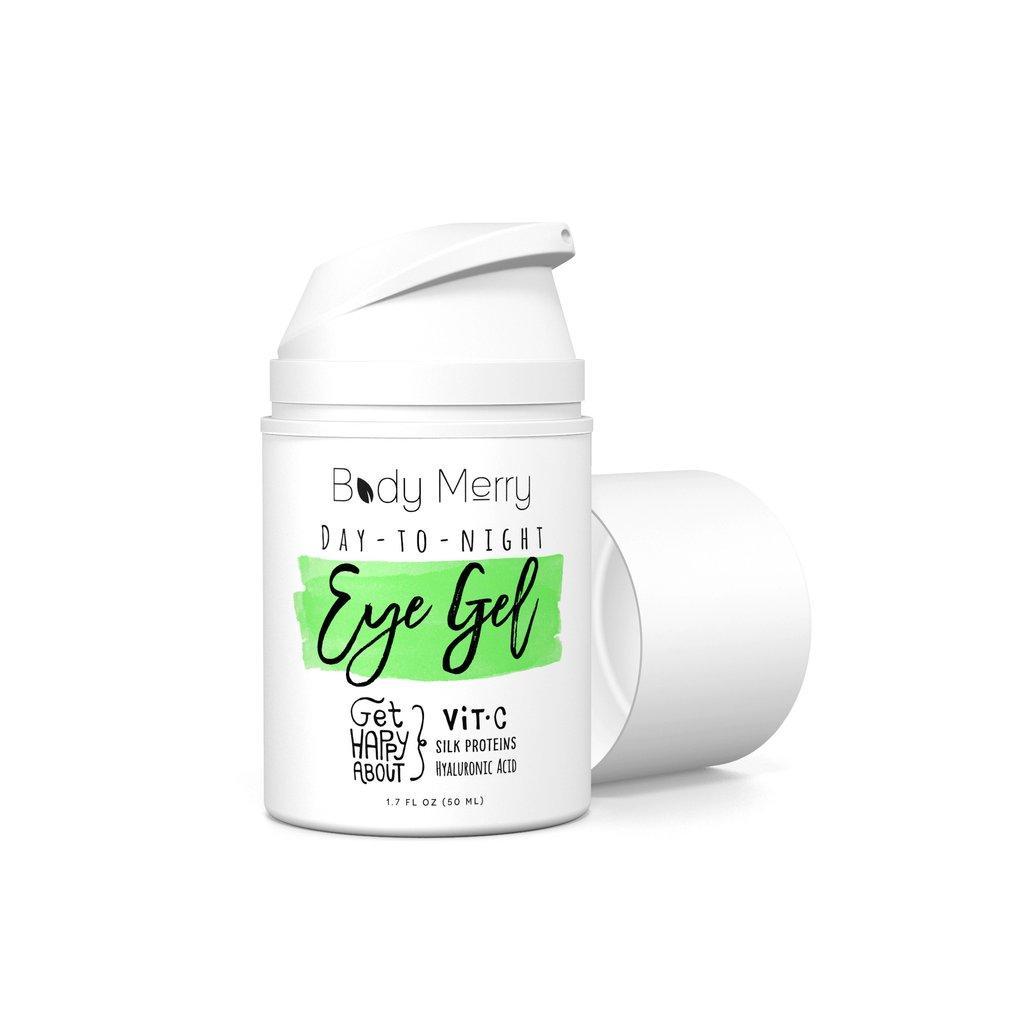 Гель для кожи вокруг глаз с гиалуроновой кислотой + витамин С Body Merry