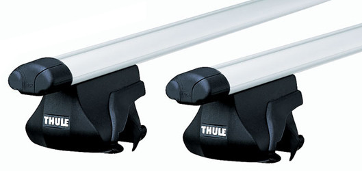 Багажная система на рейлинги Thule SmartRack 794  алюминий (1,20 м)