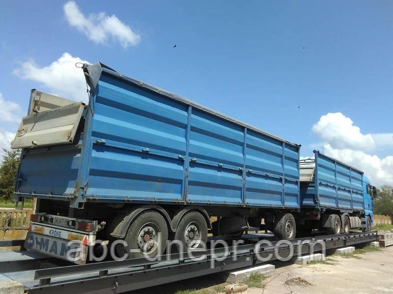 Весы автомобильные 18 метров 60 тонн электронные