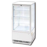Витрина вертикальная холодильная Stalgast 852173 78л LED белая
