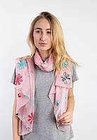 Легкие шарфы Фатима, персиковый