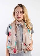 Легкие шарфы Фатима, бежевый