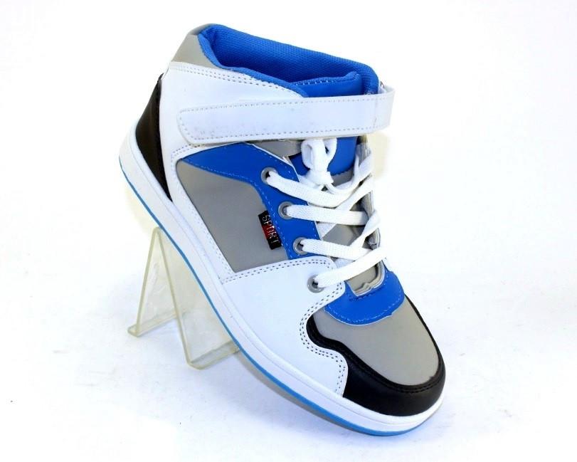 Белые ботинки сникерсы для девочки , фото 1
