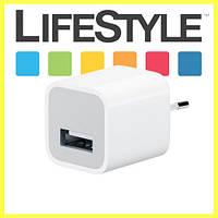 Сетевой адаптер Apple USB (зарядное устройство, блок питания) для iPhone / iPad, фото 1