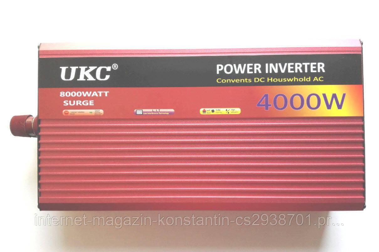 Автомобильный преобразователь UKC 4000W