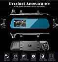 Видеорегистратор зеркало DVR T1 BlackBox Full HD 1080P на 2 камеры!, фото 5