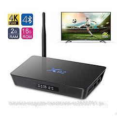Smart Box X92 Amlogic 2 ГБ 16 ГБ 8 Ядер Android 6.0 TV Box WI-FI HDMI 2.0A 4 К