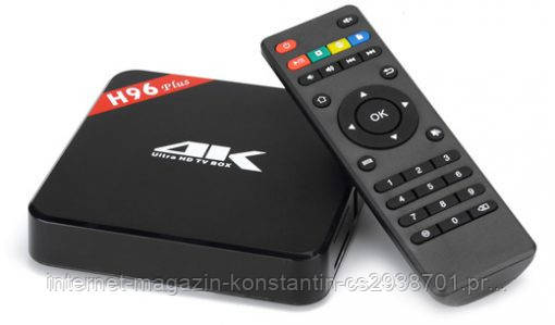 Android TV Box H96 PRO 2 ГБ 16 ГБ 8 Ядер Android 6.0 TV Box WI-FI HDMI 2.0A 4 К