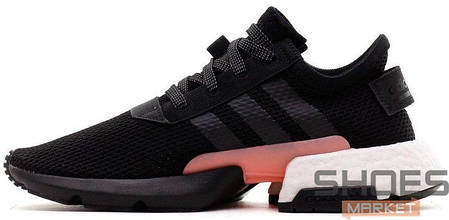 Мужские кроссовки Adidas Originals POD-S3.1 Core Black/Clear Orange B37447, Адидас ПОД-С3.1, фото 2