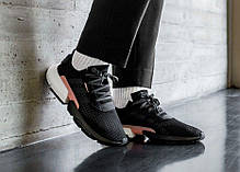 Мужские кроссовки Adidas Originals POD-S3.1 Core Black/Clear Orange B37447, Адидас ПОД-С3.1, фото 3