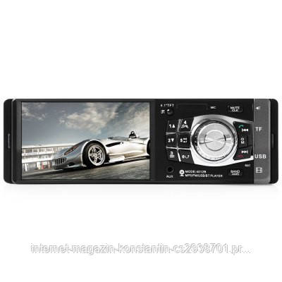 "Автомагнитола Pioneer 4012CRB Bluetooth - 4,1"" LCD TFT USB+SD DIVX/MP4/MP3 + ПУЛЬТ НА РУЛЬ"