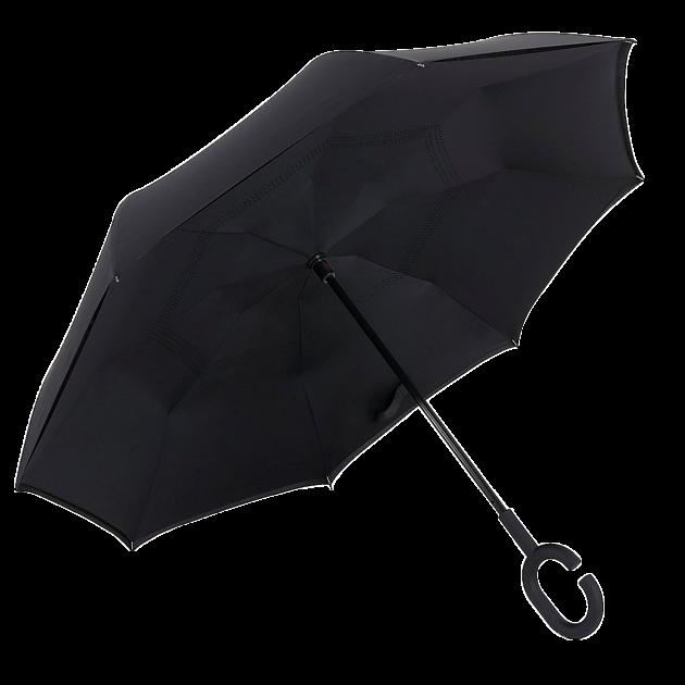 Зонт наоборот, зонт обратного сложения, ветрозащитный зонт Up-Brella, антизонт, фото 1