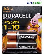 Батарейки Duracell AA (LR06) - 2 штуки, фото 1