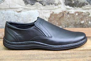 Мужские туфли комфорт Walker натур кожа 018
