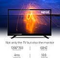 "LED-Телевизор DVB 32"" Smart TV+WiFi+Т2+HDMI+USB Гарантия 1 Год!, фото 2"