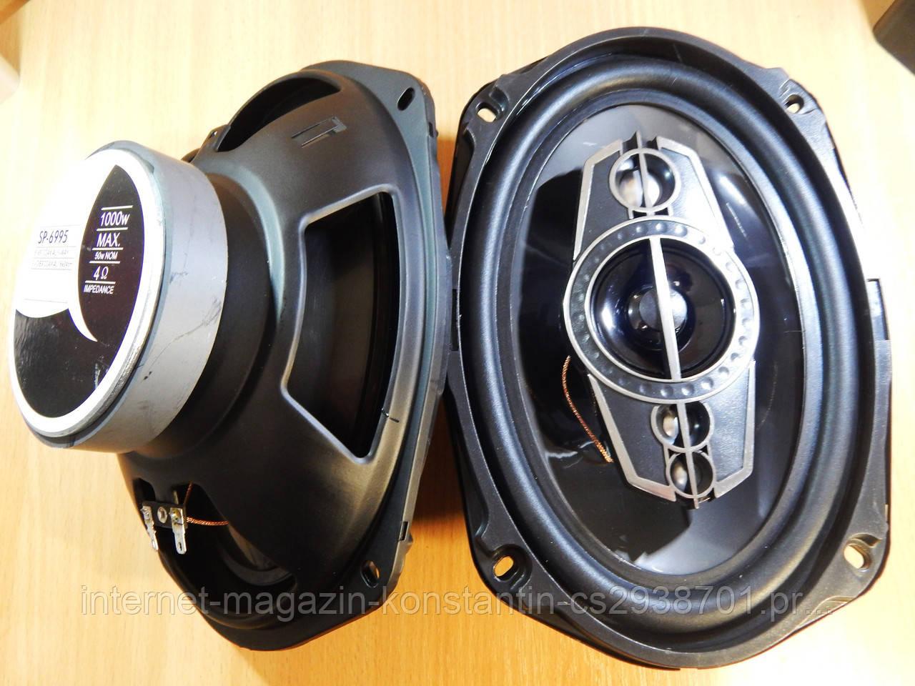 Автомобильная акустика овалы Pioneer SP-A6995 6x9 овалы (1000W) Супер Звук!