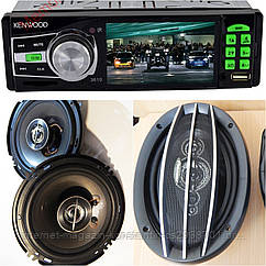 КРУТОЙ НАБОР Авто-Звука магнитола Kenwood 3610 c Video + 2 пары колонок! НОВИНКА!