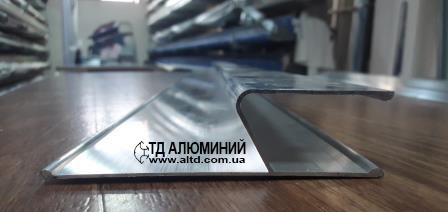 Правило алюминиевое h - образное, 2.5 мп