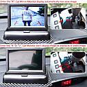 Камера заднего вида в рамке + Монитор 4.3 дюймов , фото 7