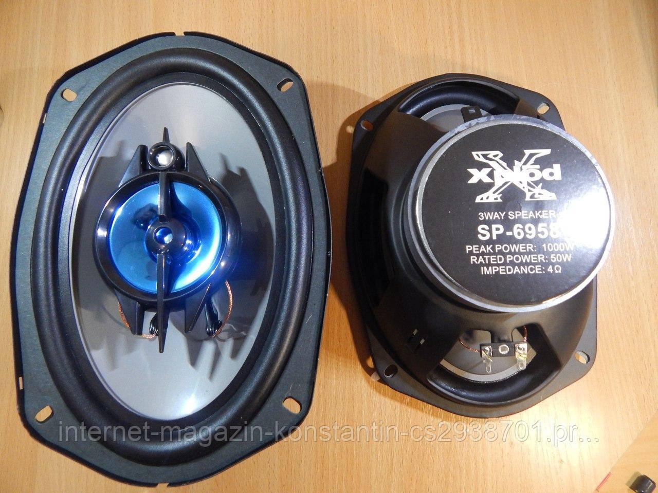 Автомобильные Колонки овалы SONY XS-GTF6958 (1000Вт)