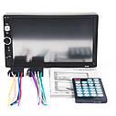 """Автомагнітола 2Din Pioneer 7010B з Екраном 7"""" дюймів сенсор + USB, SD, FM, Bluetooth+КАМЕРА!, фото 6"""