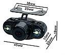 Универсальная видеокамера заднего хода E400 с подсветкой, фото 6