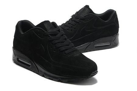Кроссовки Nike Air Max 90 VT Black Черные мужские Замш
