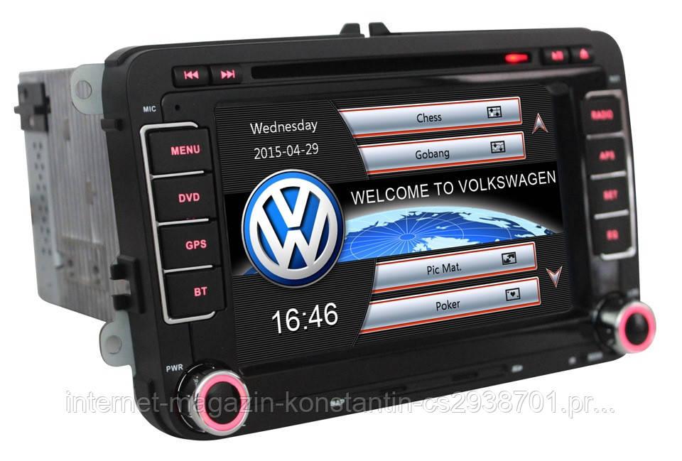 Штатная магнитола на Volkswagen Passat B6/CC/Tiguan/Jetta/Polo/Golf Winca S60 CE8904HD