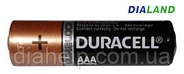 Батарейки Duracell AАA (LR03) - 1 штука (без коробки)