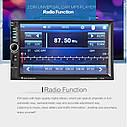 """Автомагнітола 2Din Pioneer 7021B 7"""" Екран, Bluetooth, Читає ВІДЕО+ Пульт на кермо+Шахта! АКЦІЯ!, фото 2"""