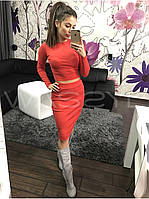 Женский Костюм: кофта + юбка, фото 1