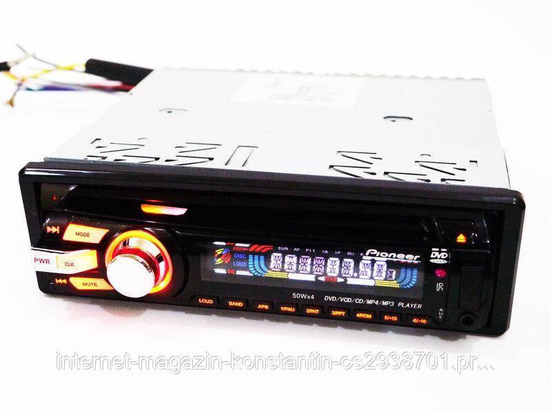 Автомагнитола Pioneer 3201 с USB, SD, AUX, FM, DVD!