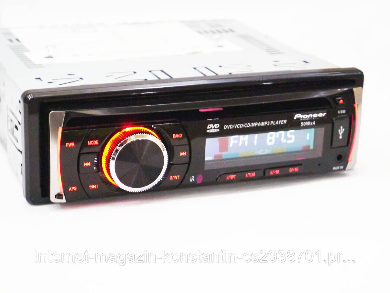 Автомагнітола Pioneer DEH 8400UBG з USB, SD, AUX, FM, DVD!