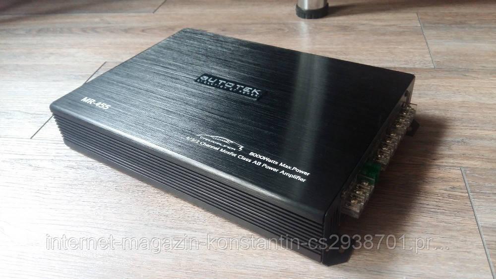 Автомобильный Усилитель Autotek MR-455 Усилитель 4 канальный 8000W