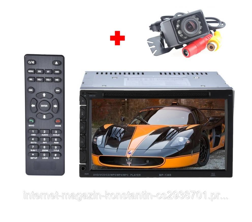 "Автомагнитола 2DIN 7"" Pioneer 1369 с DVD,GPS,TV,USB, AUX! 4*50 Вт НОВАЯ"