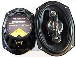 Автомобильная акустика Megavox MD-989-S4 овалы (500W) 3х полосные