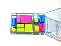 Набор счётного материала в пластиковой коробке