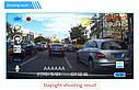 Автомобильный Видеорегистратор DVR T639, Full HD на 2 камеры, фото 5