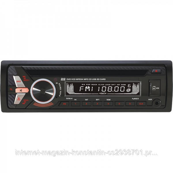 Автомагнитола Sony FY-8823 с DVD,USB, SD, AUX, FM, 4*52W Новинка 2018
