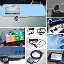 "Автомобильный Регистратор зеркало Dvr X5 Full HD 5"" GPS, WiFi, 8Gb, Android, фото 5"