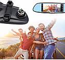 """Автомобильный видеорегистратор зеркало Junsun K5, 7"""" сенсор, 2 камеры, GPS, WiFi, 16 Gb, Android, 3G , фото 5"""