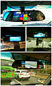 """Автомобильный видеорегистратор зеркало Junsun K5, 7"""" сенсор, 2 камеры, GPS, WiFi, 16 Gb, Android, 3G , фото 7"""