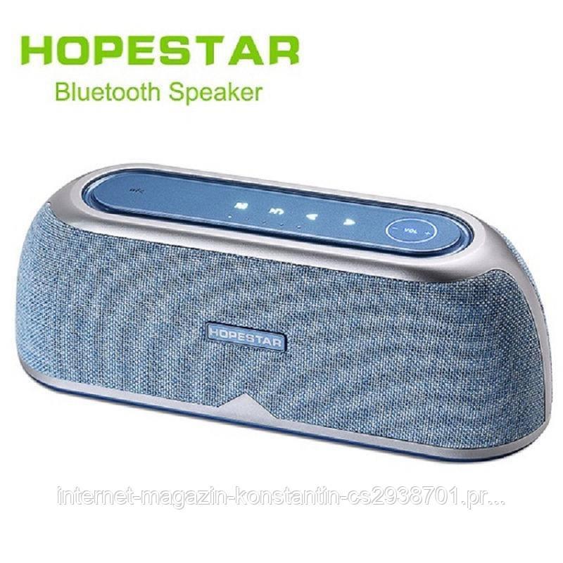 Портативная колонка Hopestar A4 Blue 25W! NFC, Bluetooth Оригинал!