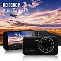 """Автомобильный Видеорегистратор DV 430 4"""" Full HD WDR на 2 камеры, фото 5"""