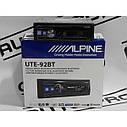 Автомагнітола Alpine UTE-92BT 4*50 Вт,USB,MP3,Bt,FM.Супер ціна!!!, фото 3