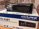 Автомагнітола Alpine UTE-92BT 4*50 Вт,USB,MP3,Bt,FM.Супер ціна!!!, фото 5